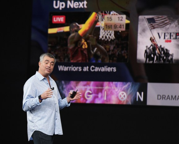 Apple's Eddy Cue discusses video service, says you'll use AR 'on a regular basis'