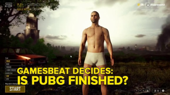 Is PlayerUnknown's Battlegrounds completed? GamesBeat Decides (with visitor Brendan Greene)