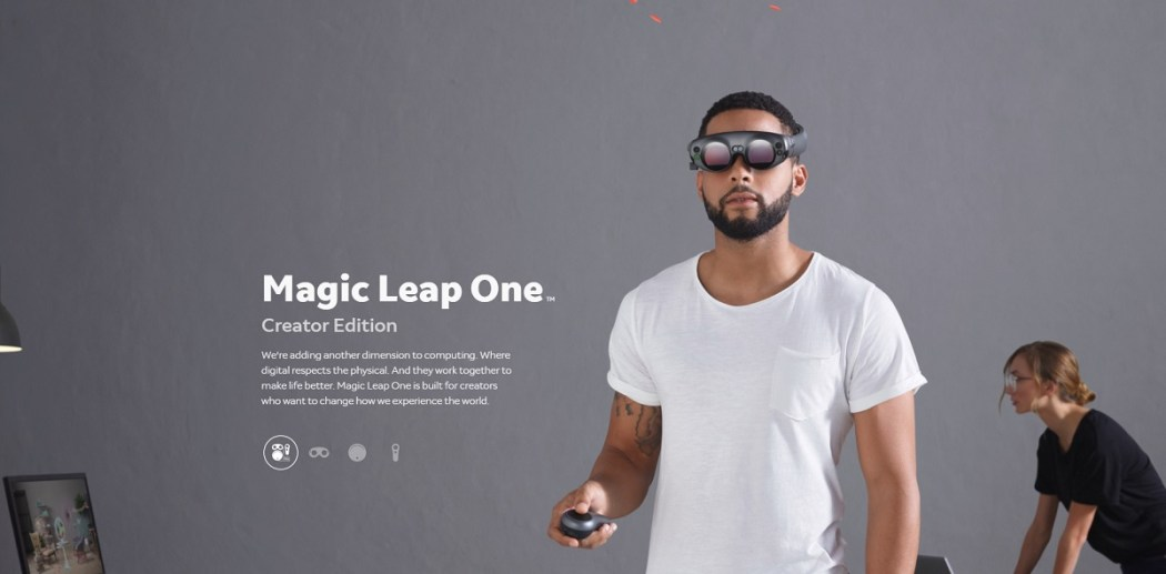 Image result for Magic Leap Augmented Reality system