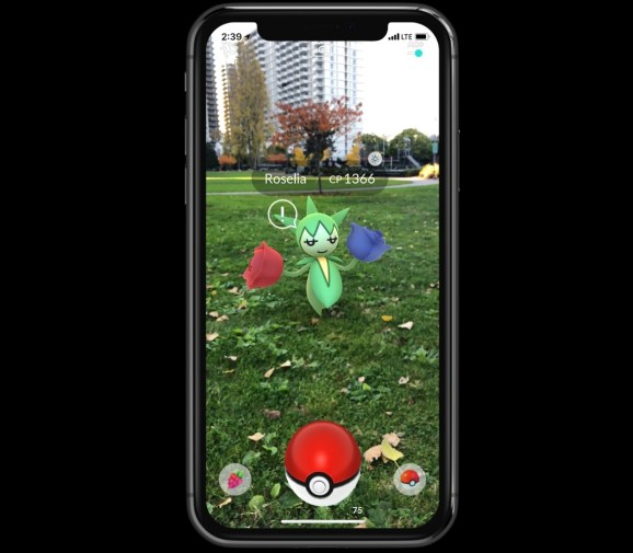 Pokémon Go will get higher augmented actuality because of ARKit on iOS