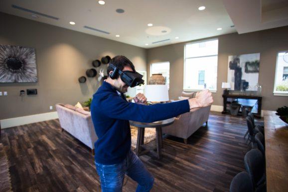 The ZED Mini digital camera turns VR into AR