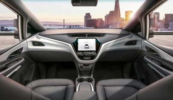 GM unveils autonomous automobile with no steering wheel or pedals, plans for 2019 launch