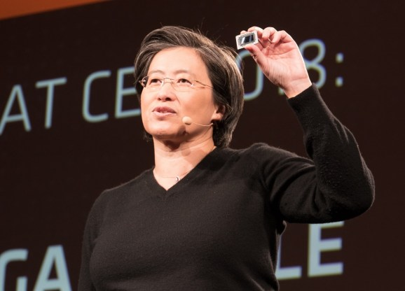 AMD unveils speedy processors and graphics chips for 2018