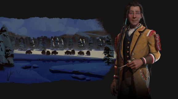Civilization VI: Rise and Fall reveals the Cree and their chief, Poundmaker