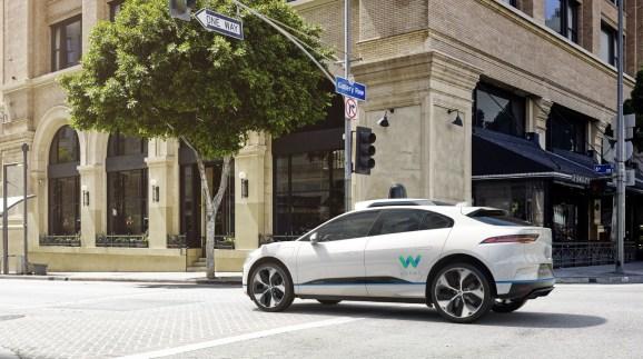 Waymo & Jaguar: Self-driving I-Pace