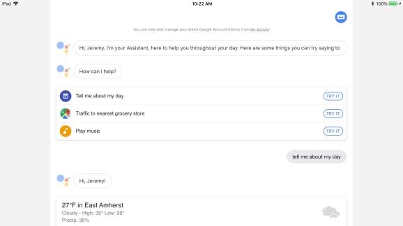 Google Assistant provides iPad help, joins Alexa and Cortana as Siri rivals