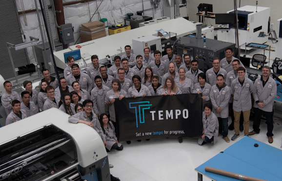 Tempo raises $20 million to open related electronics manufacturing facility in San Francisco