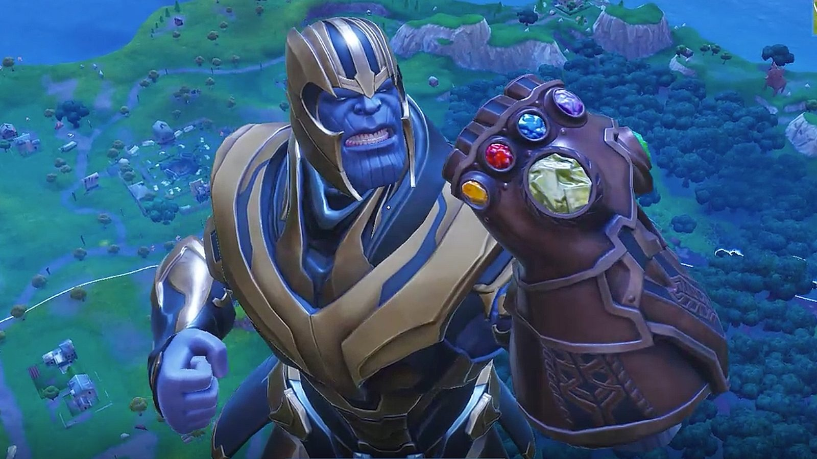 Watch Thanos dab  destroy  and dance in Fortnite   VentureBeat Watch Thanos dab  destroy  and dance in Fortnite