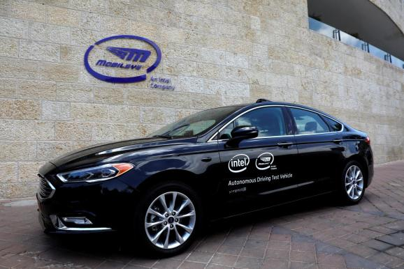 Intel's Mobileye will get self-driving tech deal for 8 million vehicles