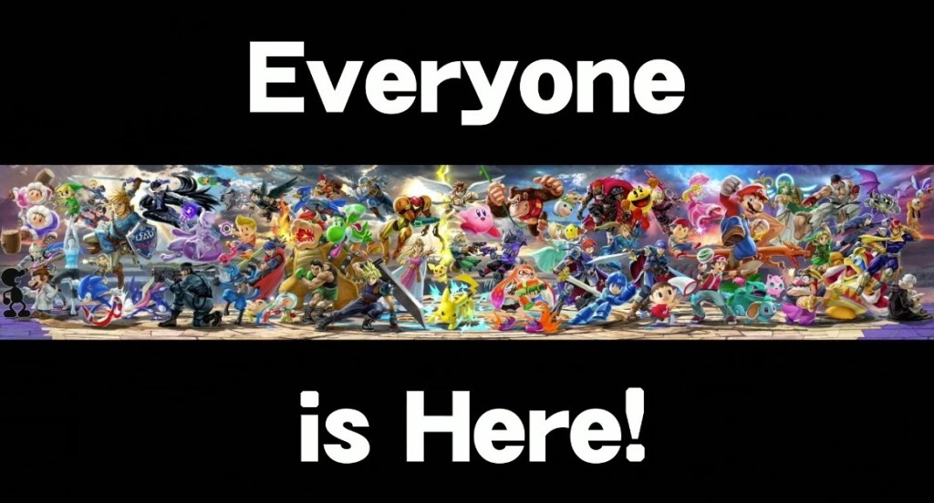 Super Smash Bros Ultimate For Switch Will Have Every