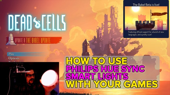 Syncing lights with your games and movies is an immersive experience.