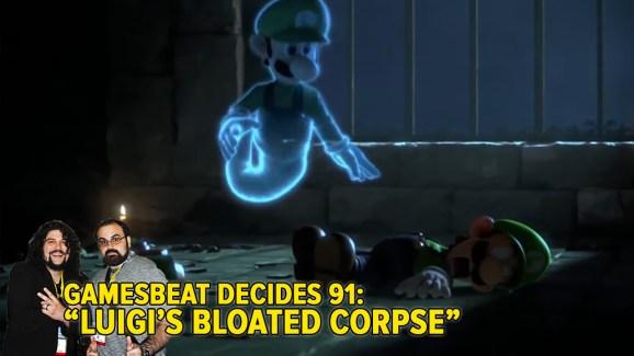 That's one dead Luigi.