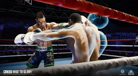 Creed: Rise to Glory is debuting on PSVR on September 25.