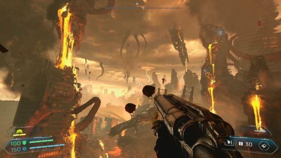 Doom Eternal brings hell to Earth.