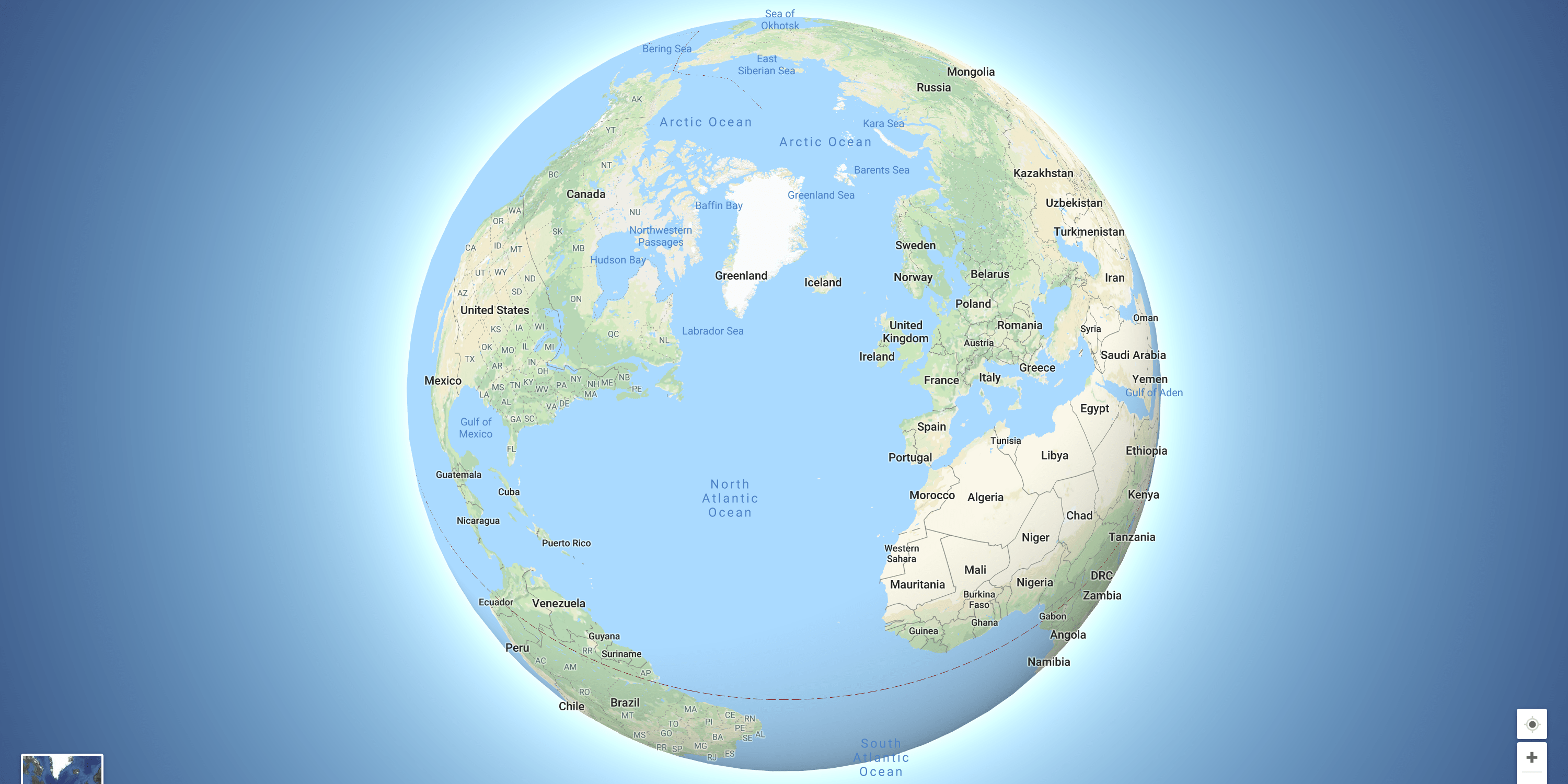 Google Maps is now a globe    just zoom out   VentureBeat Google Maps is now a globe     just zoom out