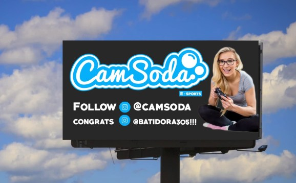 CamSoda will give up to $100,000 in sponsorship money to an esports athlete.