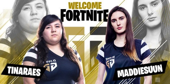 153ad543005d43 Tina Perez and Madison Mann have signed with Gen.G s Fortnite team.