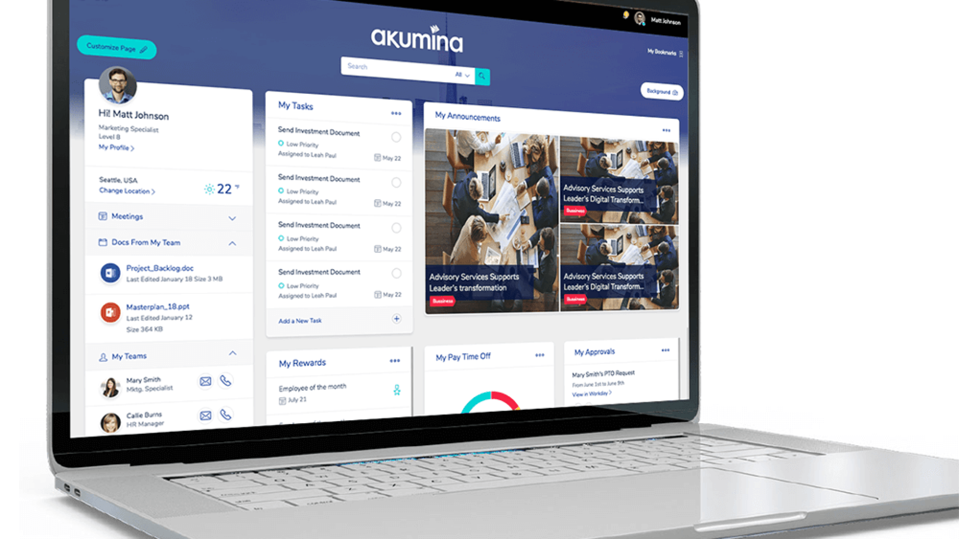 Akumina raises $7.5 million to modernize workplace intranet