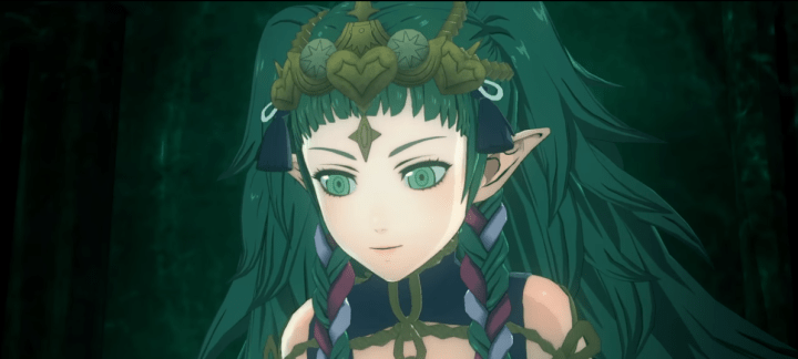 Fire Emblem: Three Houses features a mystical girl named Sothis.