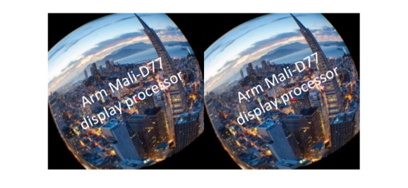 Arm says that the new Mali-D77 display processor can fix motion sickness.