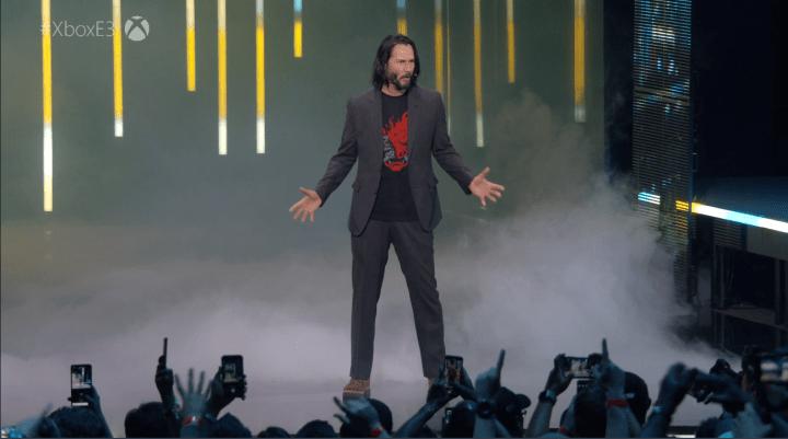 Keanu Reeves is in Cyberpunk 2077.