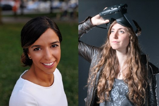 Nika Nour(left) is the new head of the IGDA Foundation and Renee Gittins is executive director of the IGDA.