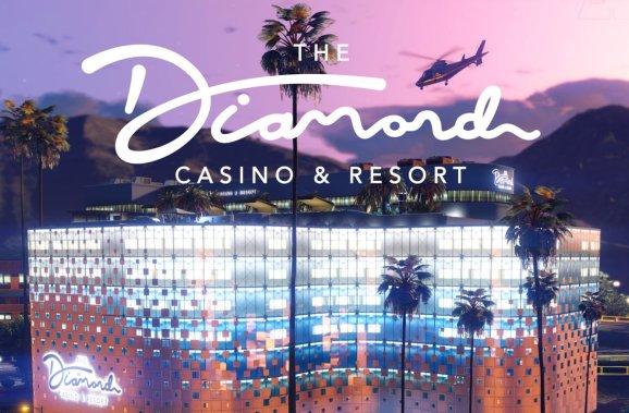 GTA Online's casino.