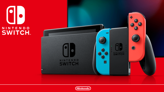 The new Nintendo Switch model.