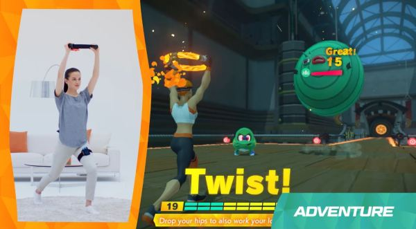Nintendo Unveils Ring Fit Adventure and Companion Ring-Con