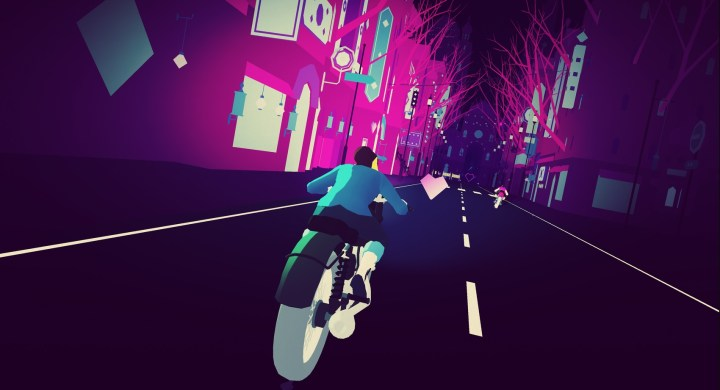 Sayonara Wild Hearts takes you on an impossibly fast ride.