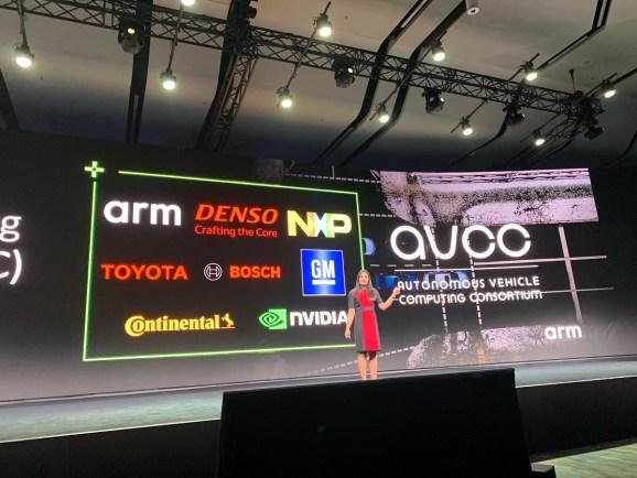 Dipti Vachani of Arm announces Autonomous Vehicle