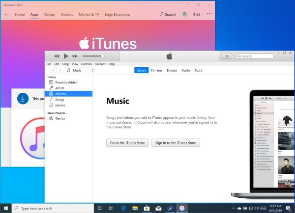As Apple sunsets iTunes for Macs, Windows users blast