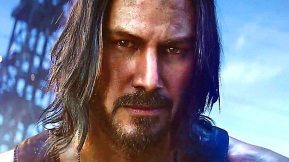 Cyberpunk 2077 isn't coming until September. Let's all just look into Keanu's eyes until them.