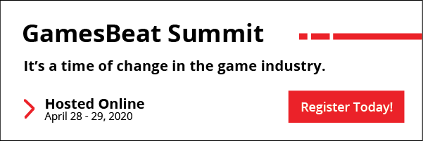 GamesBeat Summit - It's a time of change in the gaming industry. Hosted online from April 28-29.