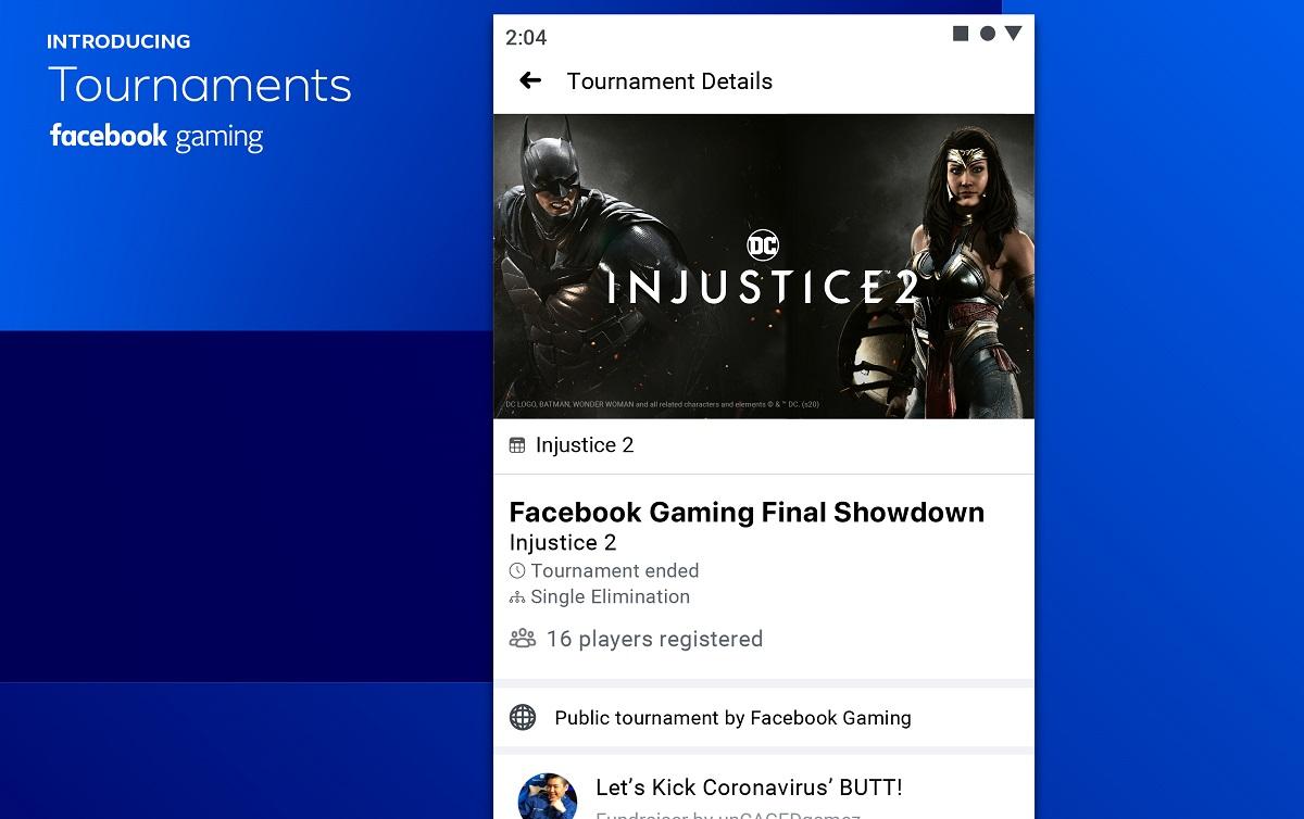 Facebook Gaming tournament