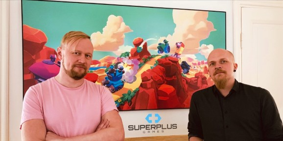 Superplus Games founders Kalle Jyly (left) and