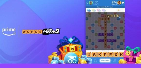 Zynga has partnered with Amazon for Prime rewards.