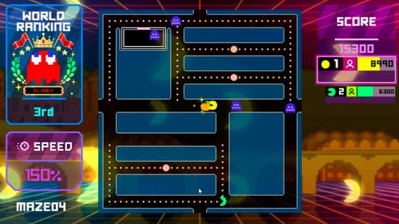 Pac-Man Live Studio in action.