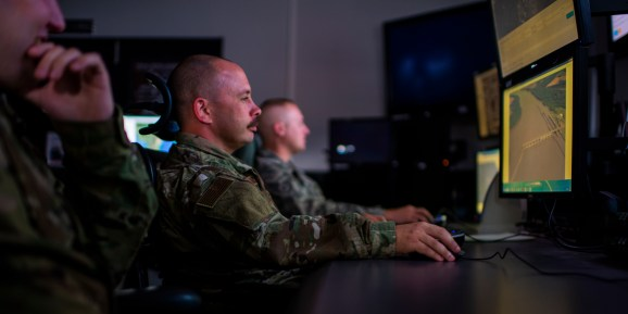Air National Guard Intelligence Analysts assigned to the 181st Intelligence Wing, 137th Intelligence Squadron Unclassified Processing, Assessment, and Dissemination (UPAD) site were hand selected to assist in new developmental programs at Hulman Field Indiana National Guard Base, Ind., Nov. 02, 2019.