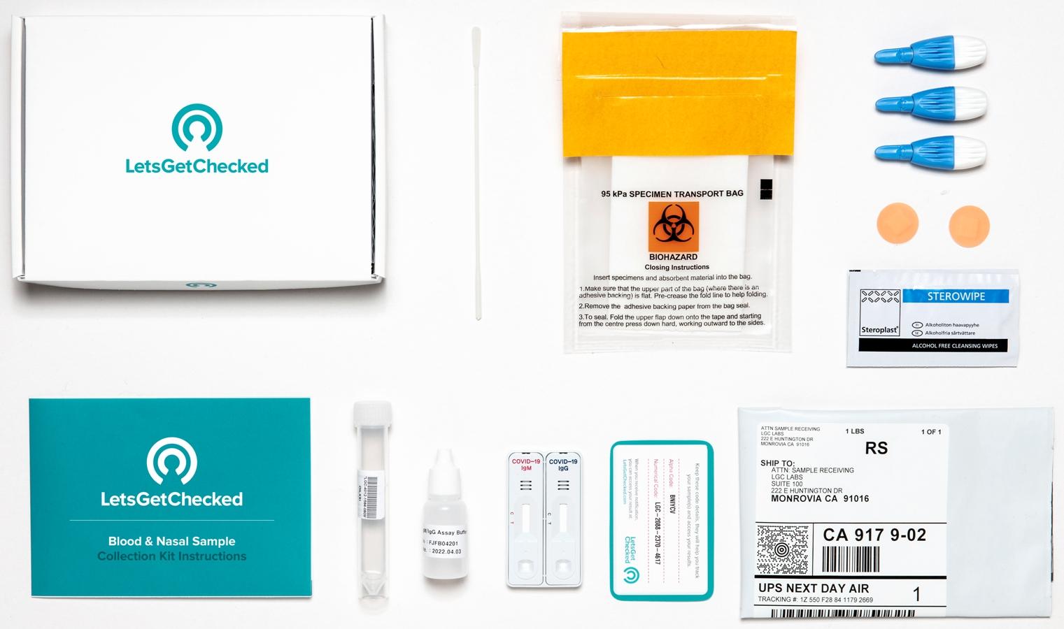 LetsGetChecked raises $71 million for at-home coronavirus test kits 5