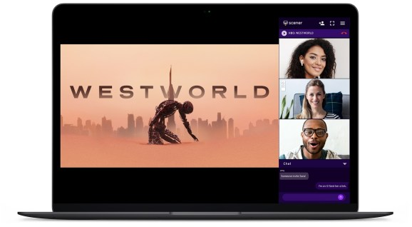 You can watch Westworld episodes (or reruns) with your friends using Scener.