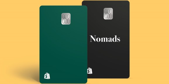 Shopify Balance debit card