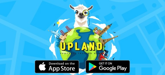 Upland has a location-based game where you can buy virtual properties.