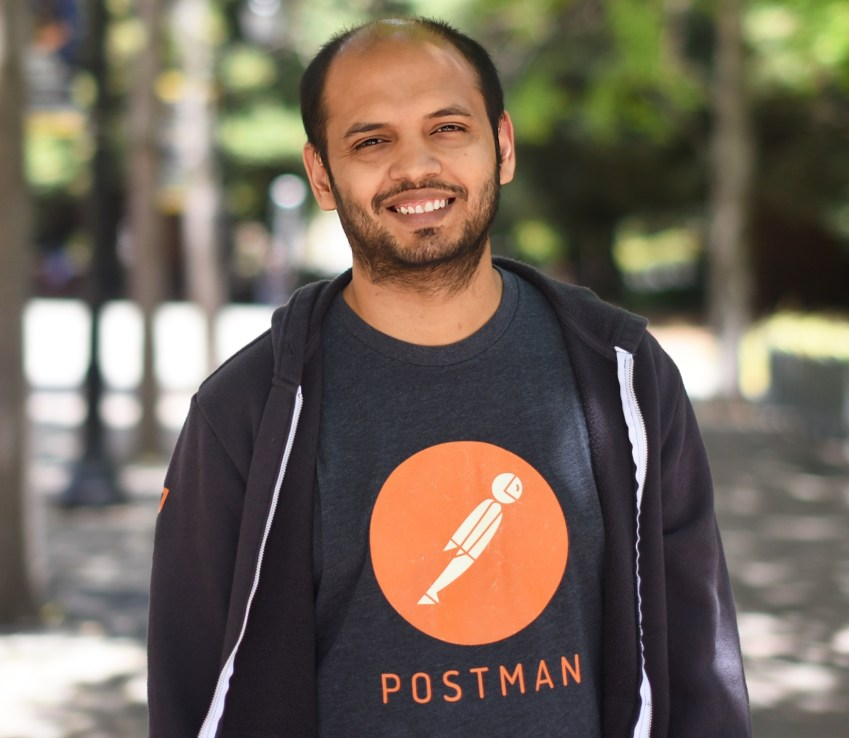 Postman CEO Abhinav Asthana
