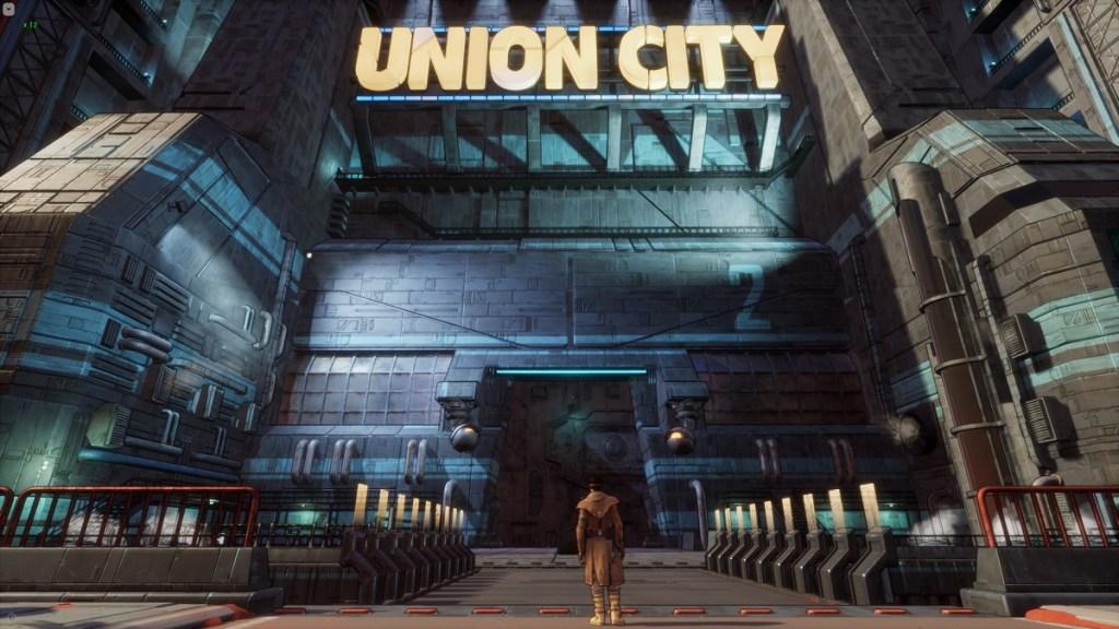 Union City in Beyond a Steel Sky.
