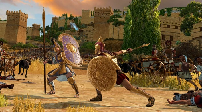 Total War Saga: Troy - Fighting the epic battles of gods and heroes | VentureBeat
