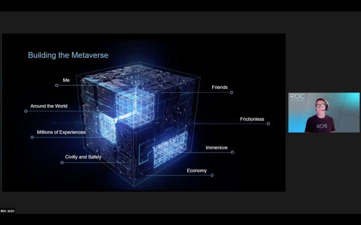 Dave Baszucki, CEO of Roblox, talks about the Metaverse.