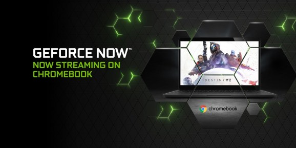GeForce Now cloud gaming is available on Chromebooks.