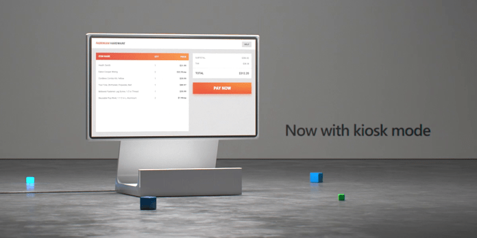 Microsoft Edge kiosk mode