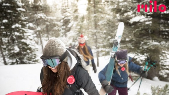 Your ski party can stay in touch via Milo devices.
